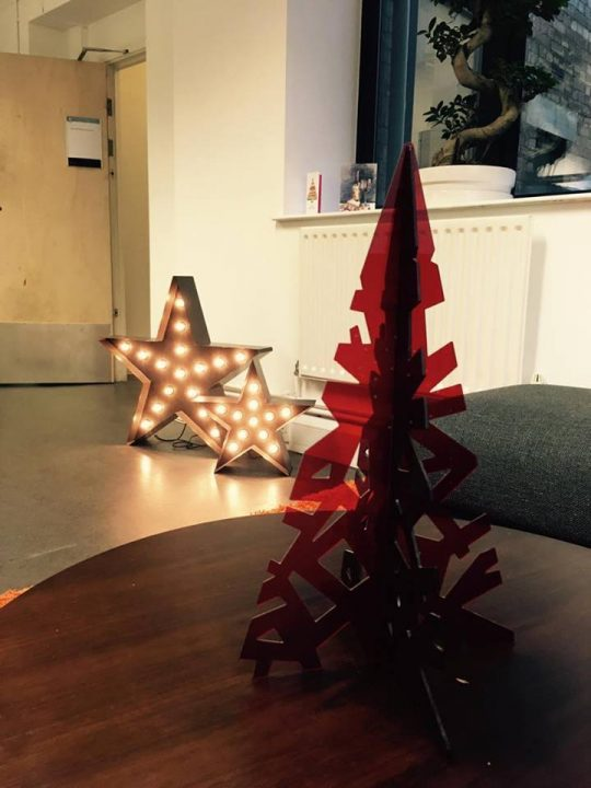 Christmas in the HdK office