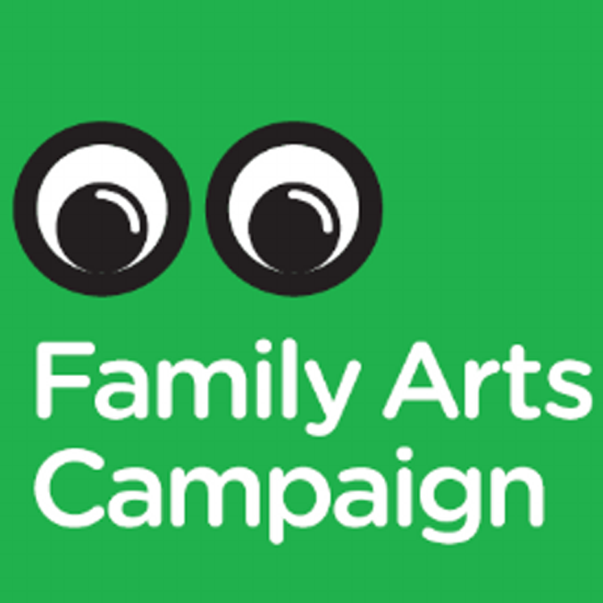 family arts campaign logo