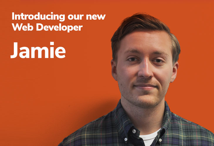 Introducing our new Web Developer – Jamie