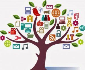 Tree of social media use