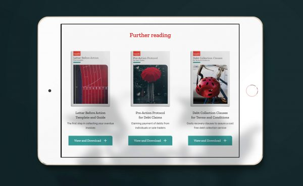Examples of the downloadable guides on the Lovetts website