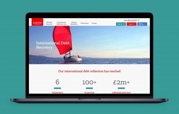 Lovetts website example