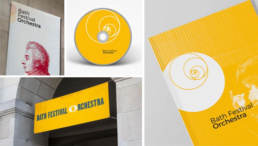 Bath Festival Orchestra logo design